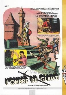 Extrait de Le chevalier blanc (BD Must) -HS- Les Funcken, hérauts du journal Tintin