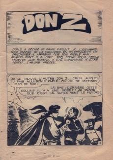 Extrait de Don Z -13- Faire Front à l'Envahisseur Yankee...