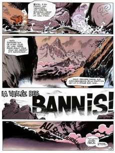 Extrait de Spirou et Fantasio -41a91- La vallée des bannis