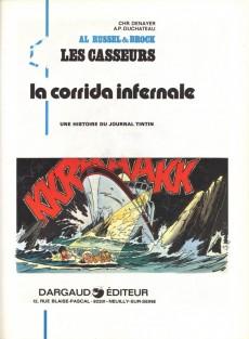 Extrait de Les casseurs - Al & Brock -5- La corrida infernale