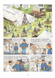 Extrait de Les tuniques Bleues -58- Les bleus se mettent au vert