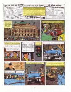 Extrait de Blake et Mortimer (Historique) -7b82- S.O.S. Météores - Mortimer à Paris