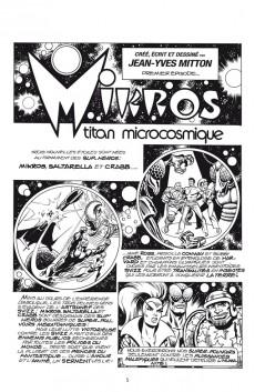 Extrait de Mikros Archives -2- Descente aux enfers