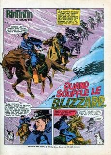 Extrait de Rin Tin Tin & Rusty (2e série) -21- Quand souffle le blizzard...