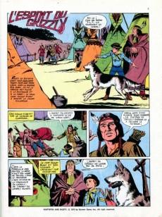 Extrait de Rin Tin Tin & Rusty (2e série) -28- L'Esprit du Grizzly