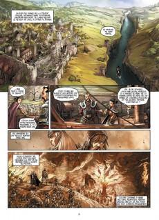 Extrait de Elfes -7- Le Crystal des Elfes sylvains