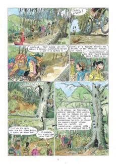 Extrait de Les excursionnistes ou à l'école des Pyrénées - Les Excursionnistes ou à l'école des Pyrénées