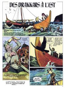 Extrait de La découverte du monde en bandes dessinées -2- L'aventure des Vikings