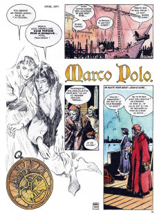 Extrait de La découverte du monde en bandes dessinées -3- Marco Polo