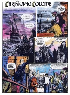 Extrait de La découverte du monde en bandes dessinées -4- Christophe Colomb