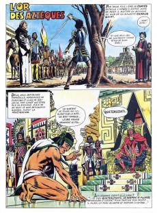 Extrait de La découverte du monde en bandes dessinées -6- Cortés au Mexique