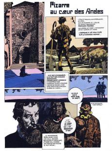 Extrait de La découverte du monde en bandes dessinées -7- Pizarre chez les Incas