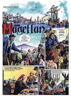 Extrait de La découverte du monde en bandes dessinées -9- Magellan le premier tour du monde