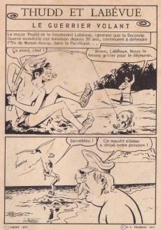 Extrait de Plop (1e Série - Aredit) -5- Thudd et Labévue - Le guerrier volant