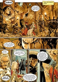 Extrait de Scorpion (The) -7- The Mask of Truth