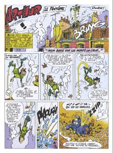 Extrait de Arthur le fantôme justicier (Cézard, Éditions du Taupinambour) -10- Les fiche la frousse