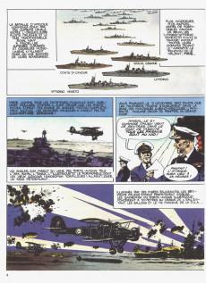 Extrait de La seconde guerre mondiale - Histoire B.D. / Bande mauve -7- Afrika Korps - La guerre du désert