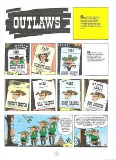 Extrait de Lucky Luke (en anglais) -647- Outlaws