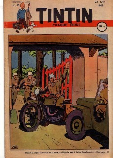 Extrait de (Recueil) Tintin (Album du journal - Édition française) -3- Numéro 3