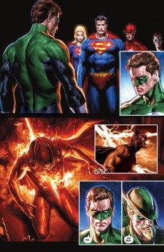 Extrait de Justice League: Cry for justice (2009) -INT- Cry for Justice