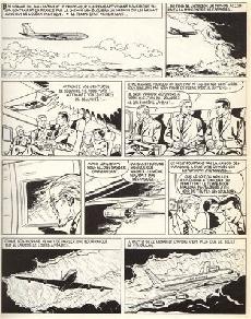 Extrait de Bob Morane 5 (Deligne) -3- Bob Morane et les tours de cristal