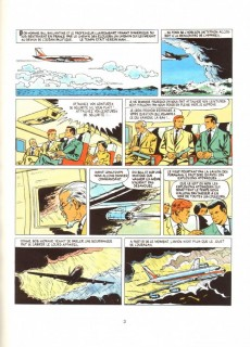 Extrait de Bob Morane 4 (Lefrancq) -304- Les Tours de cristal