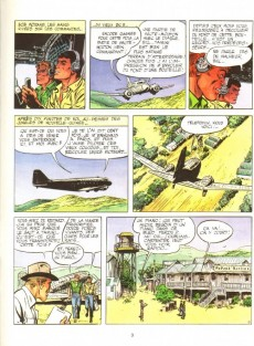 Extrait de Bob Morane 4 (Lefrancq) -08- La vallée infernale