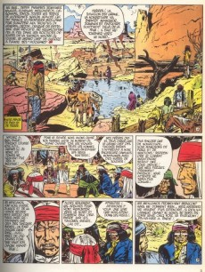Extrait de Blueberry -5a76- La Piste des Navajos