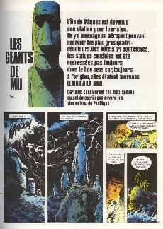 Extrait de Bob Morane 3 (Lombard) -20b1981- Les géants de Mu