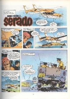 Extrait de Bob Morane 3 (Lombard) -21b1985- Panne sèche à Serado