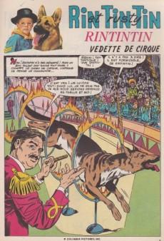 Extrait de Rin Tin Tin & Rusty (2e série) -124- Rintintin vedette de cirque