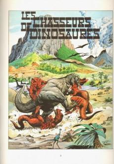 Extrait de Bob Morane 3 (Lombard) -33- Les chasseurs de dinosaures