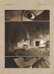 Extrait de La guerre des Sambre - Maxime & Constance -1- Chapitre 1 - Automne 1775 : La Fiancée de ses nuits blanches