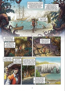 Extrait de Les aventuriers de la Mer -2- Les chemins de la liberté