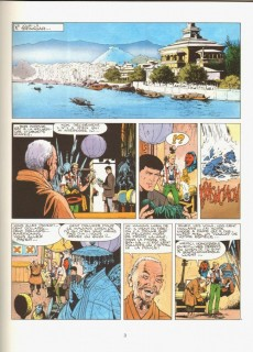 Extrait de Bob Morane 3 (Lombard) -43- Le masque de jade