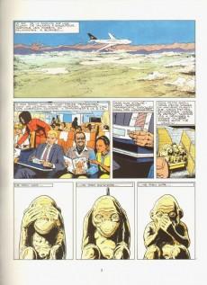 Extrait de Bob Morane 3 (Lombard) -44- Trois petits singes