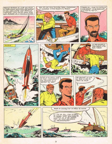 Extrait de Bob Morane 1 (Marabout) -1- L'oiseau de feu