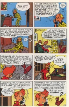 Extrait de Spirou et Fantasio -6c1981- La corne de rhinocéros