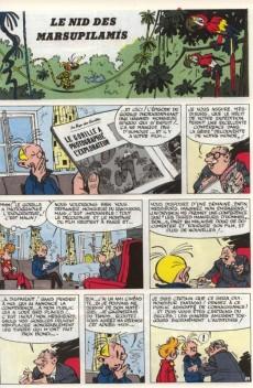 Extrait de Spirou et Fantasio -12d82- Le nid des Marsupilamis
