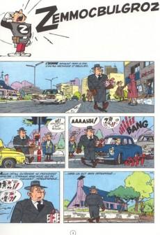 Extrait de Spirou et Fantasio -15d82- Z comme Zorglub