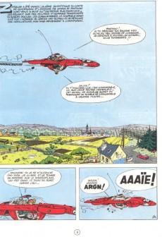 Extrait de Spirou et Fantasio -16d82- L'ombre du Z