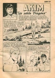 Extrait de Akim (1re série) -523- Les petits Dragons