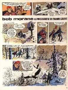 Extrait de Bob Morane 2 (Dargaud) -14b1987- La prisonnière de l'ombre jaune