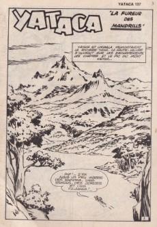 Extrait de Yataca (Fils-du-Soleil) -137- La fureur des mandrills