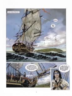 Extrait de Black Crow -HS3- Black Crow raconte La Bounty - La Mutinerie des Maudits