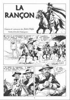 Extrait de Zorro (les aventures de) (Jean Pape) -1- La rançon