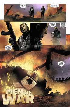 Extrait de Men of war Vol.2 (DC comics - 2011) -4- (sans titre)