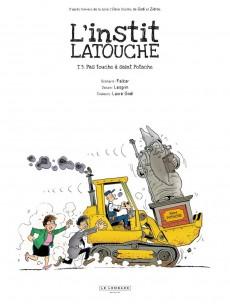 Extrait de L'instit Latouche -3- Pas touche à saint potache