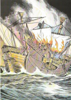 Extrait de Histoire Juniors -8- Christophe Colomb