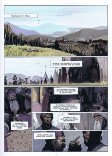 Extrait de La chronique des Immortels -54- Le Vampyre - Deuxième Partie
